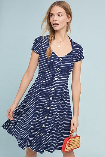 Fit Amp Flare Dresses Anthropologie