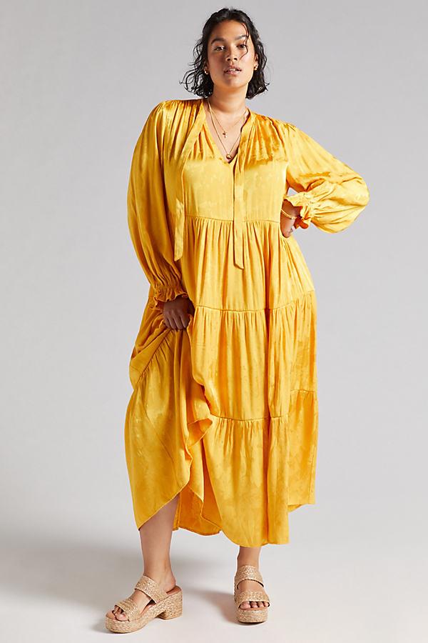 Maeve Tiered Maxi Dress