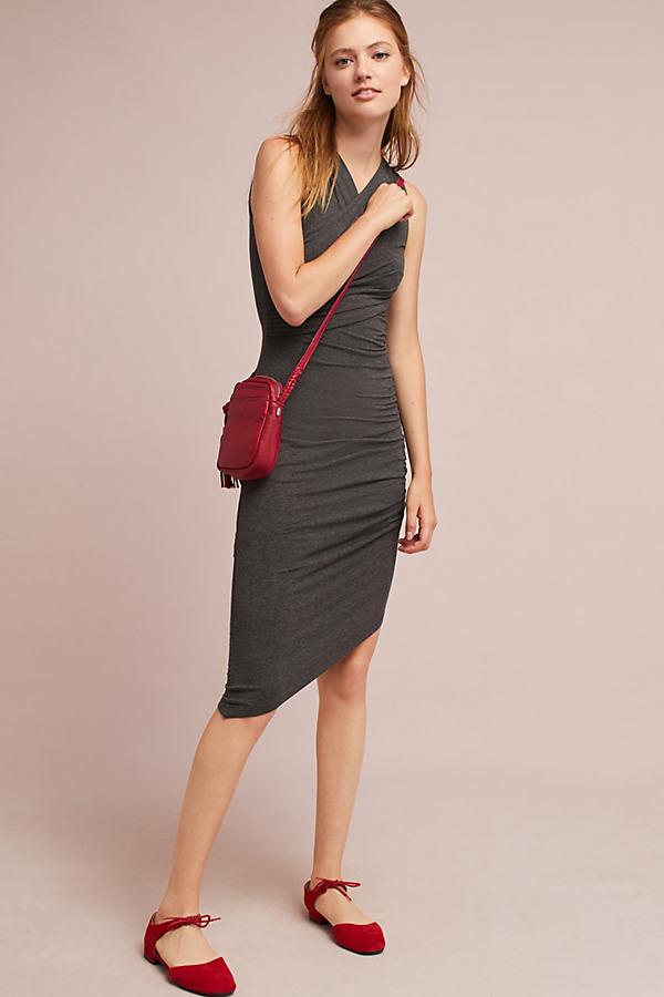 Arden Knit Dress - Grey, Size S