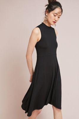 White top black dress