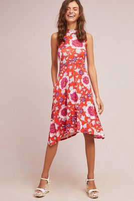 Maeve   Cleary Dress  -    BRIGHT RED