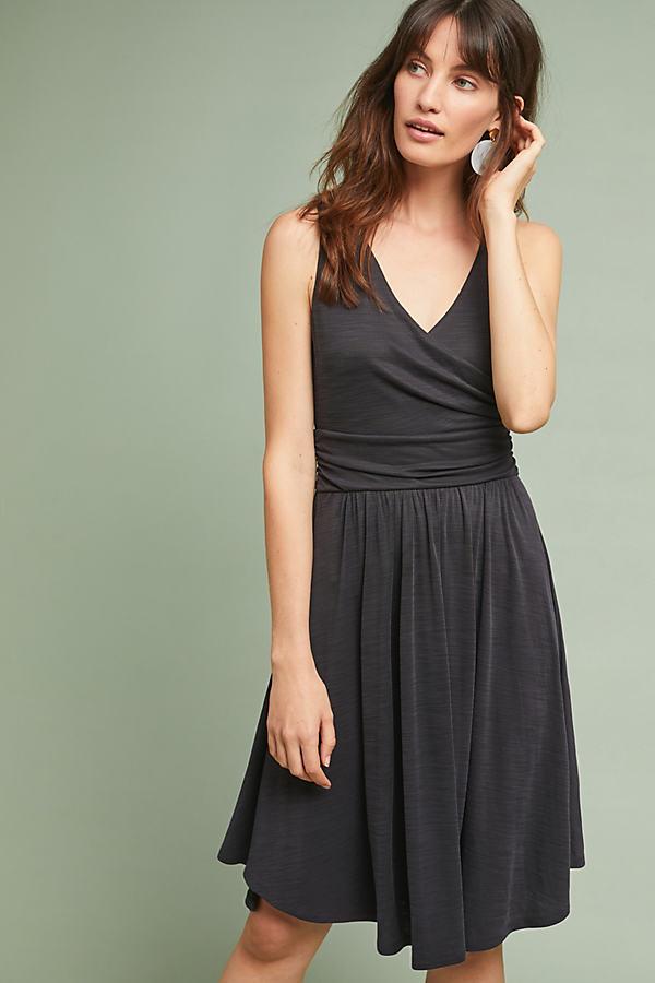 Nora Textured Dress - Black