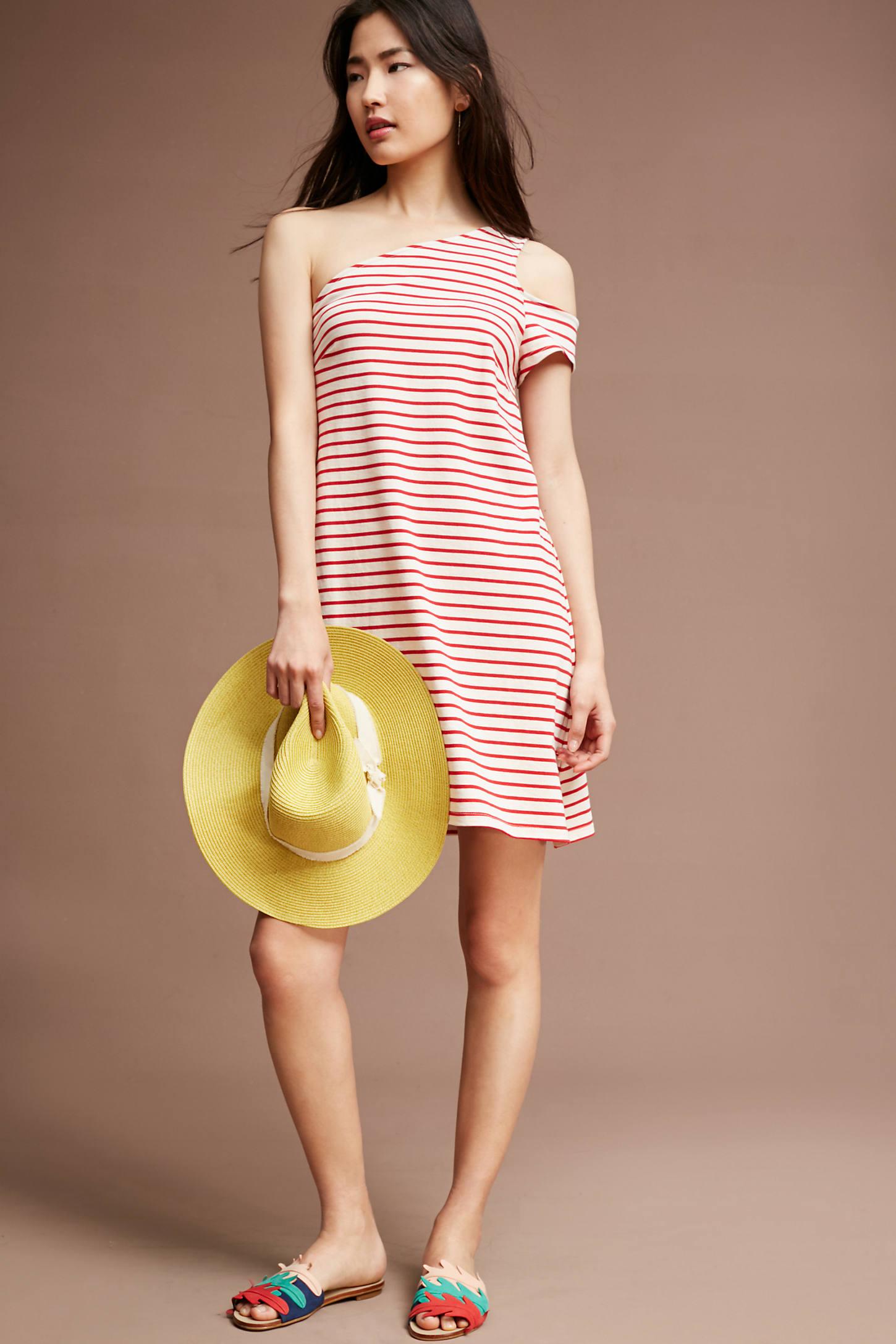 Marketa One-Shoulder Dress