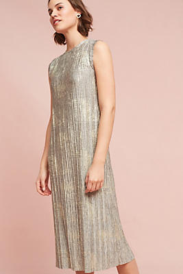 Slide View: 1: Corrina Metallic Dress