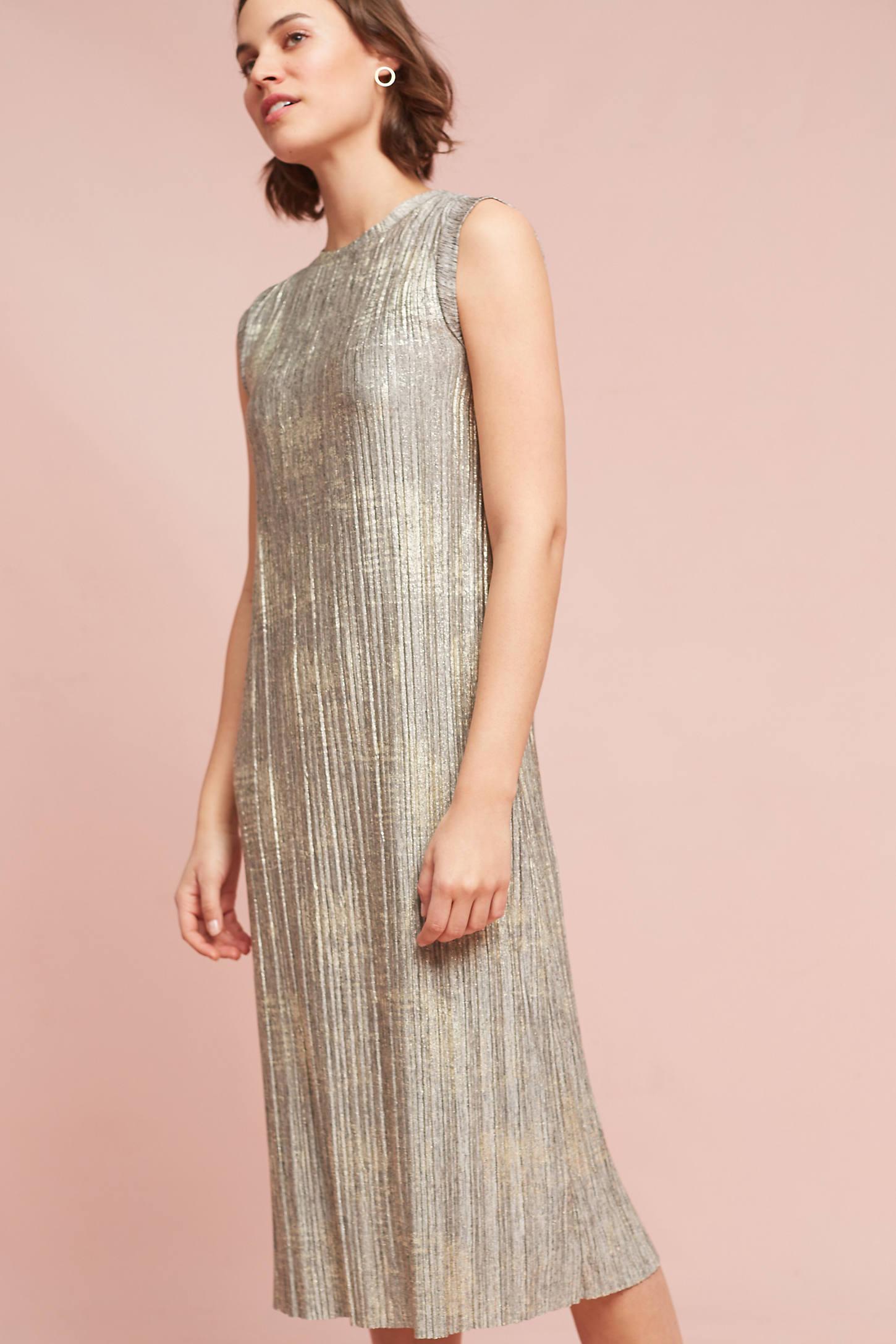Corrina Metallic Dress