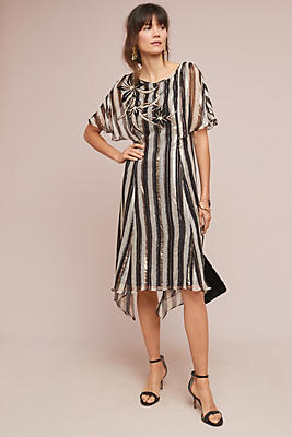 Slide View: 1: Shrie Striped Dress
