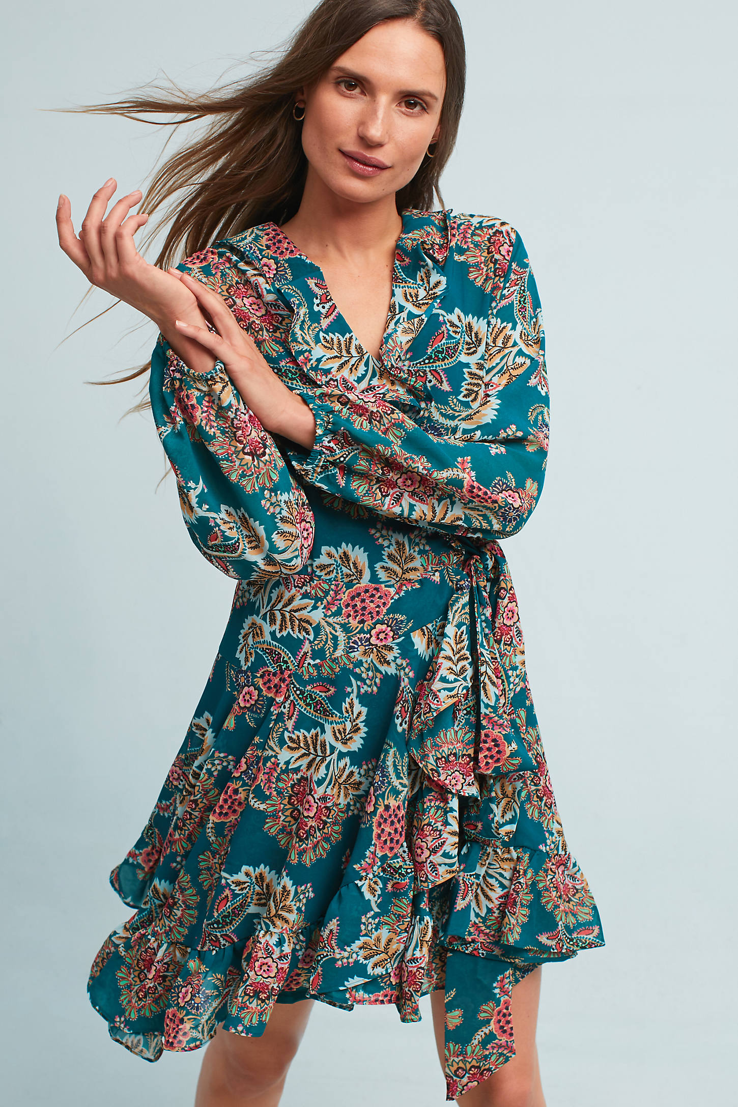 Nayara Wrap Dress