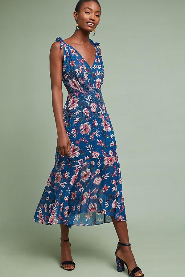 Johanne Beaded Dress - Assorted, Size S
