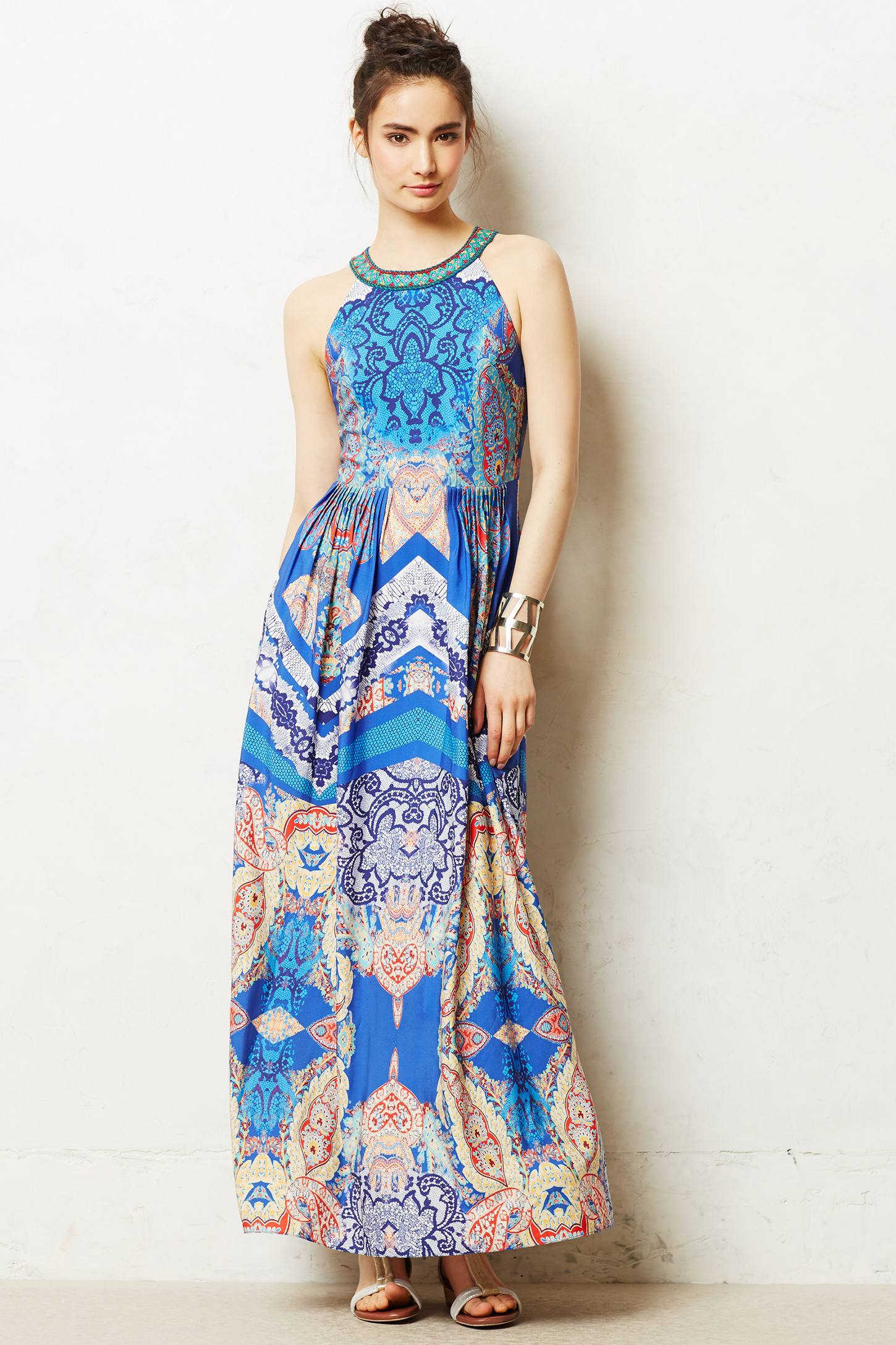 Boteh Maxi Dress