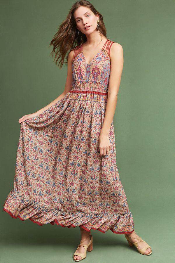 Ranna Gill Crespi Maxi Dress