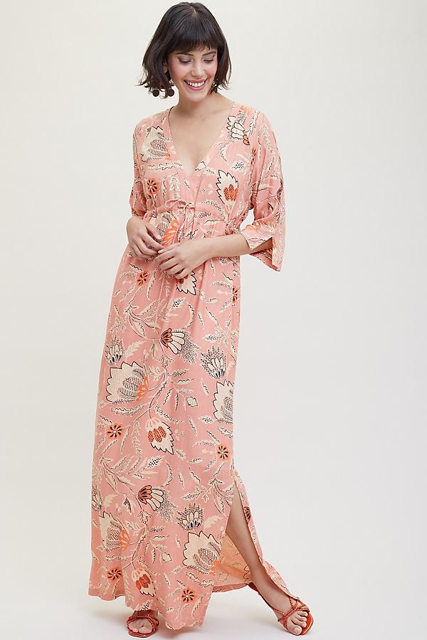 Fresco Printed Dress - Pink, Size Xl