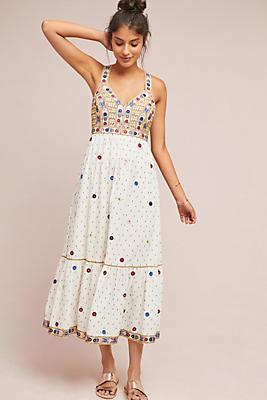 Slide View: 1: Norah Midi Dress