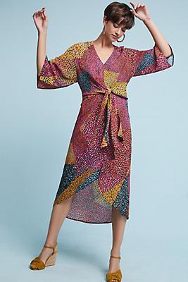 Slide View: 1: Tori Wrap Dress