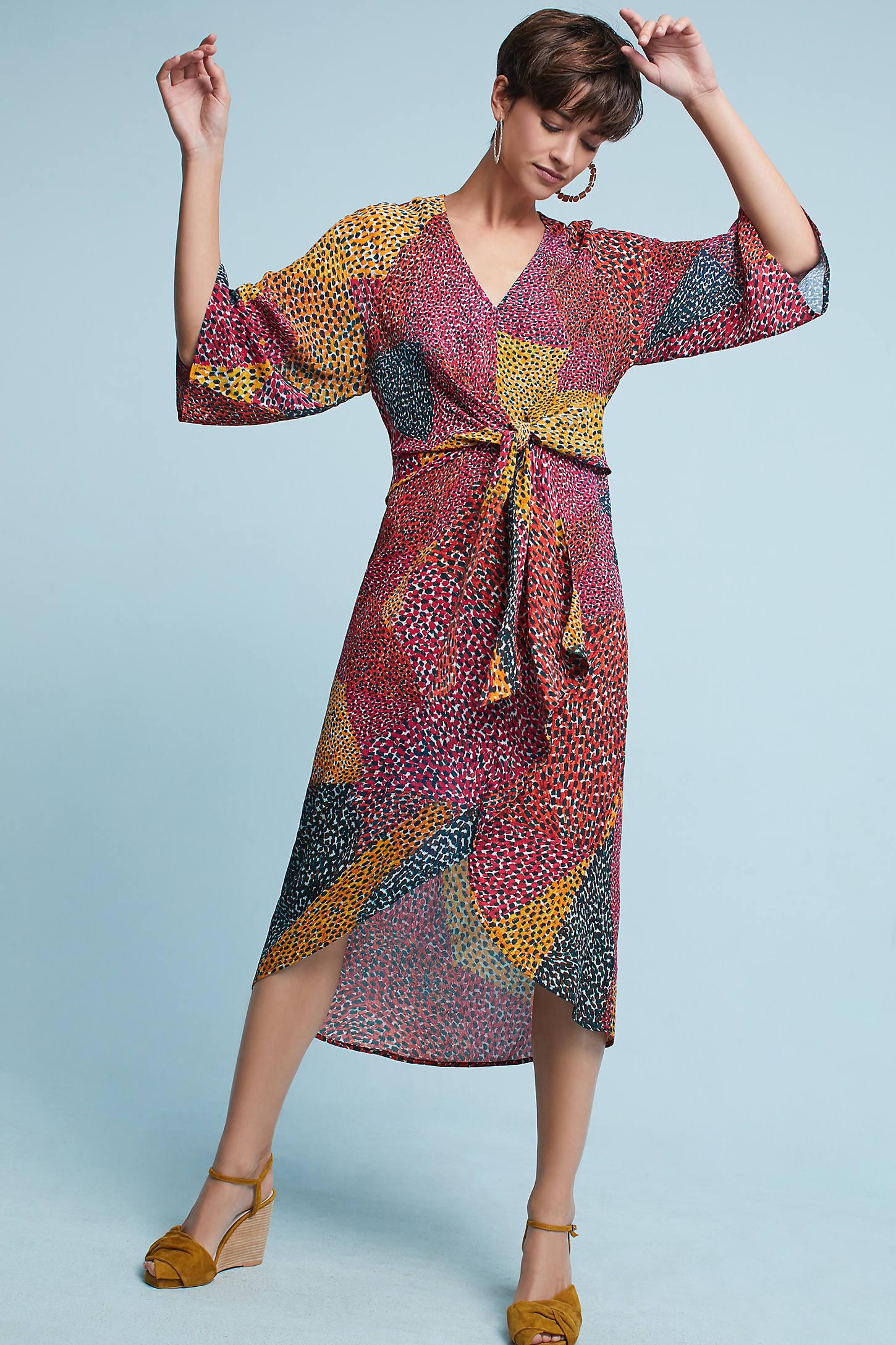 Tori Wrap Dress