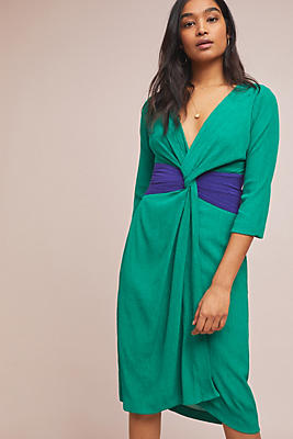 Slide View: 1: Esme Knotted Dress