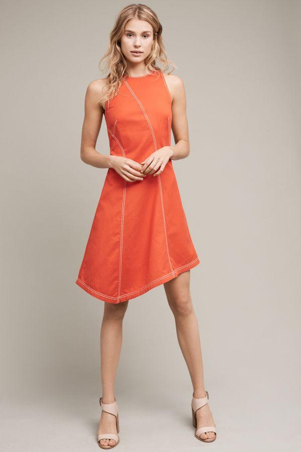 Maeve Asymmetrical Bileu Dress