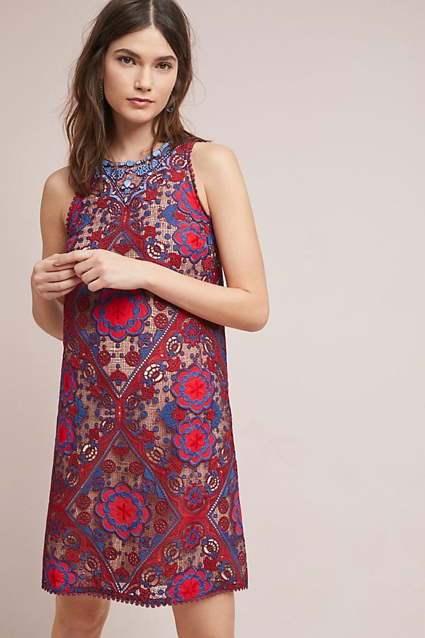 Slide View: 1: Moran Shift Dress