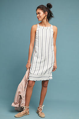 Slide View: 1: Claudia Striped Shift Dress