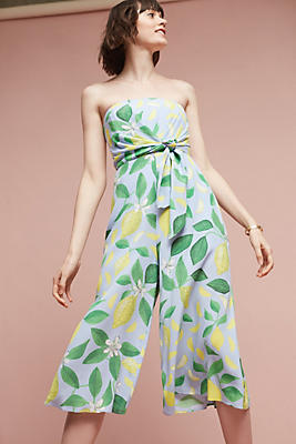 Slide View: 2: Orchard Strapless Jumpsuit