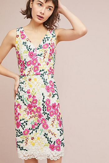 Find unique wedding guest dresses that are perfect for Winter weddings at Anthropologie. Shop wedding guest dresses from maxis to a-line styles.