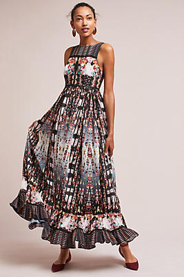 Slide View: 1: Amira Tiered Dress