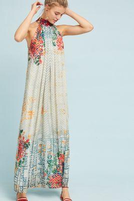 Bhanuni by Jyoti   Marilla Maxi Dress  -    NEUTRAL MOTIF