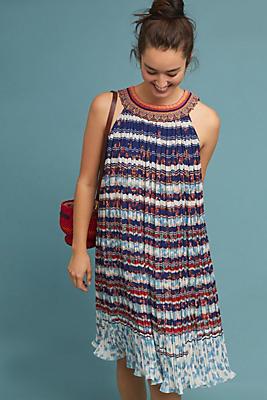 Slide View: 1: Temara Beaded Shift Dress