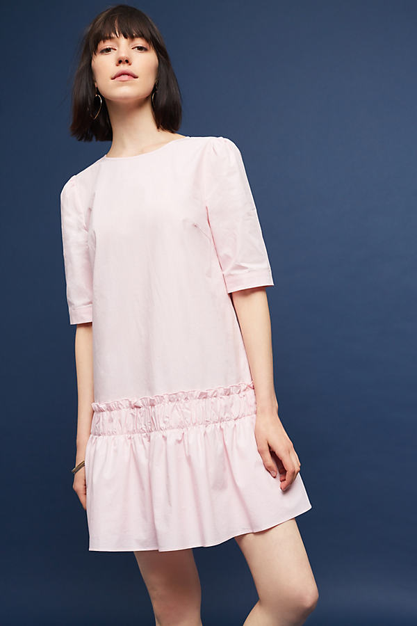 Eden Poplin Dress, Pink - Rose, Size Xl
