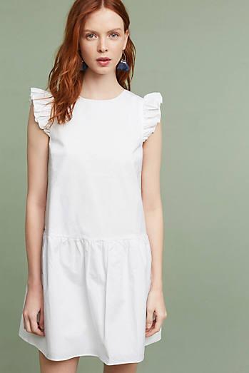 Little White Dresses - Anthropologie