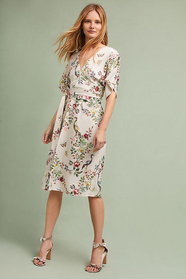 Avian Kimono Midi Dress