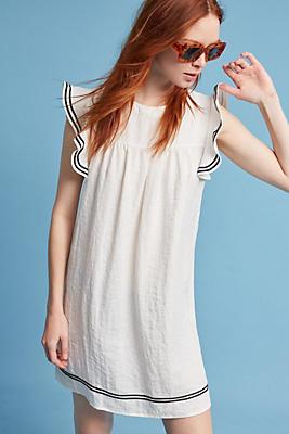 Slide View: 1: Skysail Ruffled Tunic Dress
