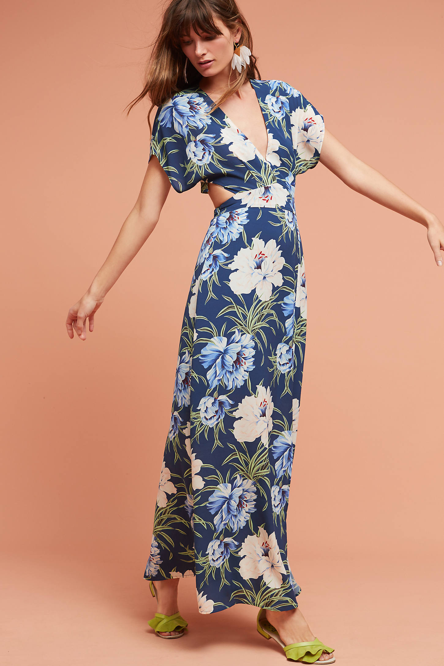 Santorini Wrap Maxi Dress