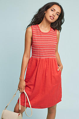Slide View: 1: Southport Smocked Dress