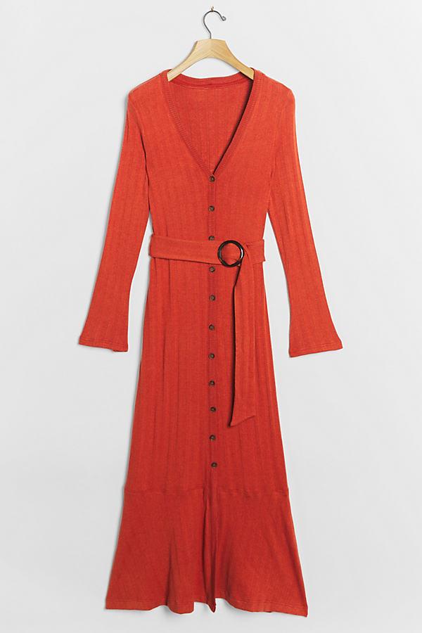 Elsa Ribbed Maxi Dress