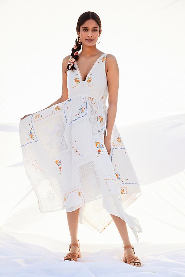 Rita Embroidered Maxi Dress