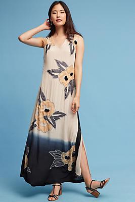 Slide View: 1: Tamsia Beaded Maxi Dress