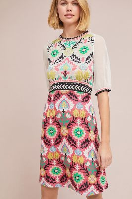 Aldomartins   Winona Knit Dress  -    PINK
