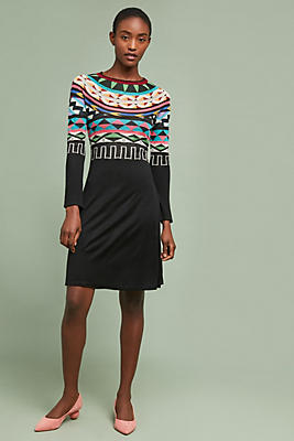 Slide View: 1: Lucerne Sweater Dress