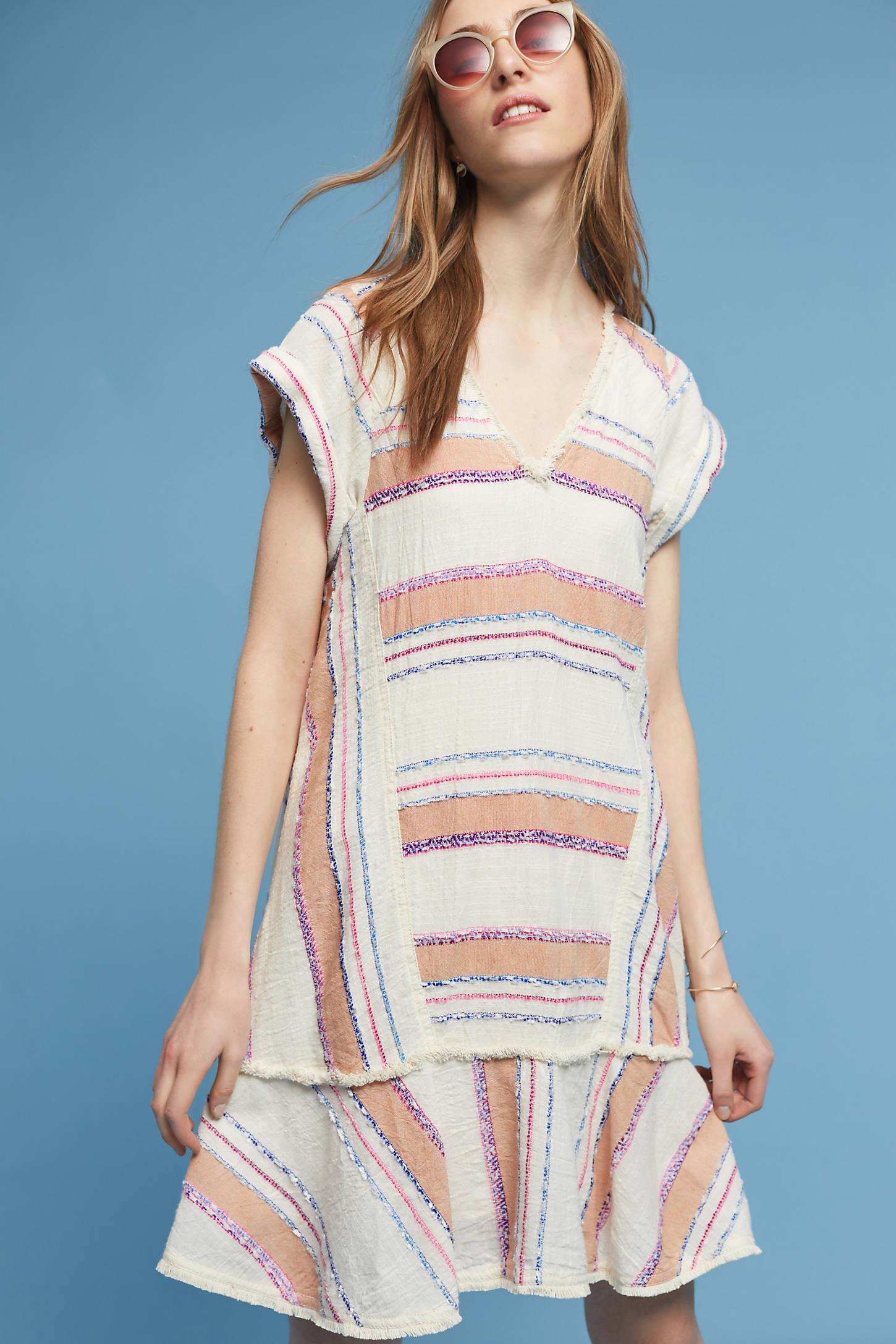Elira Striped Dress