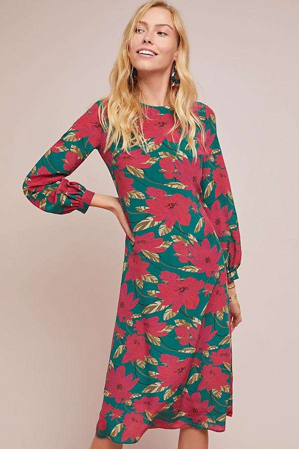 Rosetta Silk Dress - Assorted, Size Uk 10