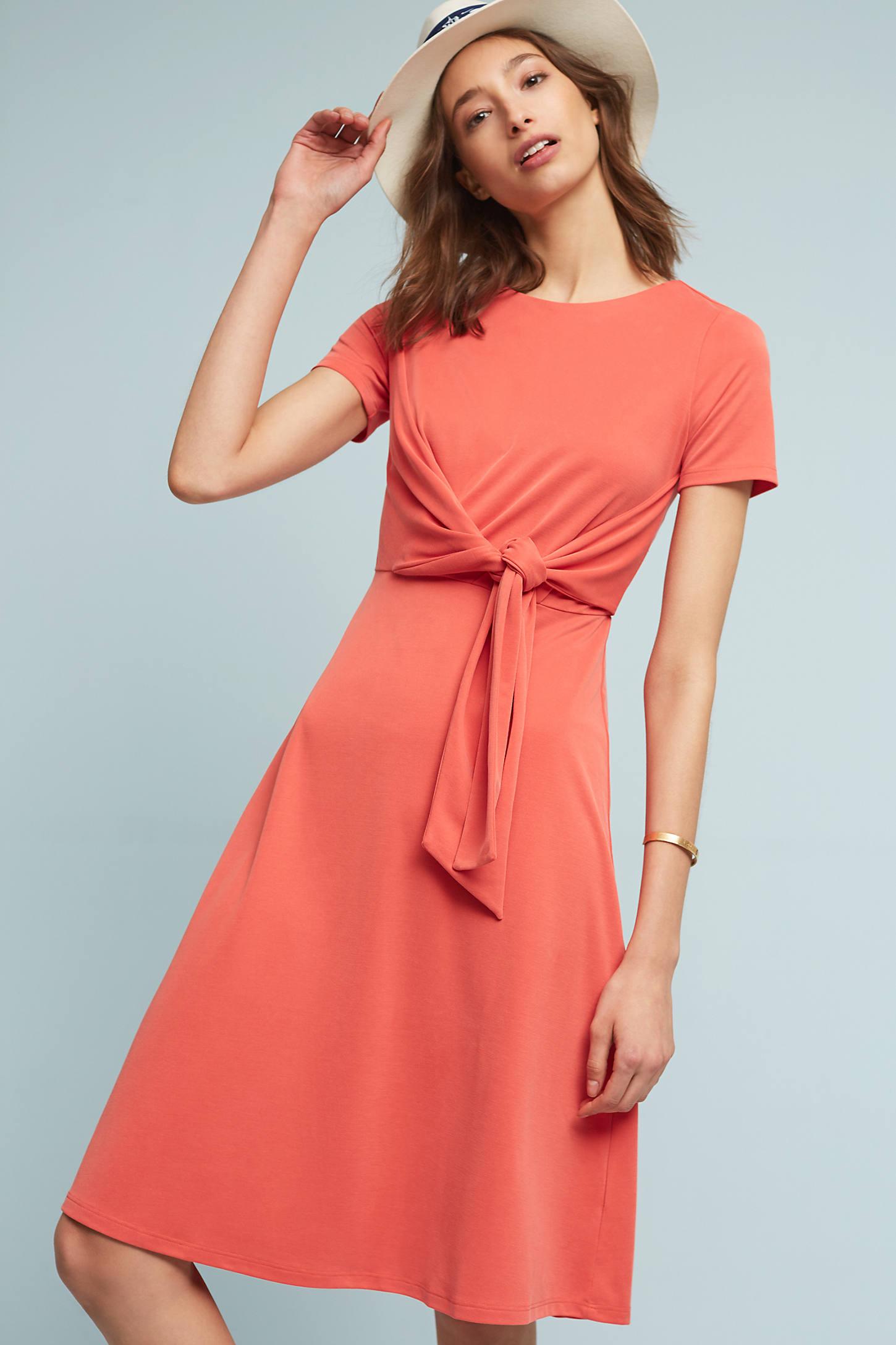 Lida Tie-Waist Dress