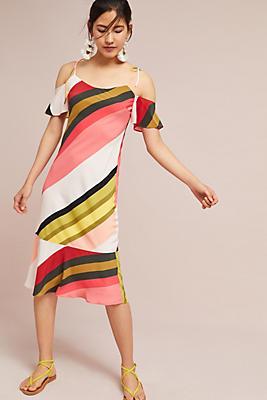 Slide View: 1: Madison Silk Dress
