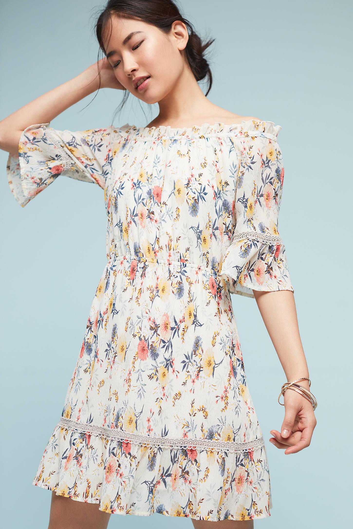 Leona Off-The-Shoulder Dress