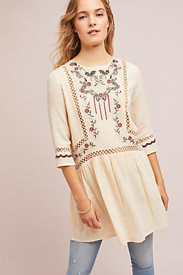 Slide View: 1: Malte Embroidered Dress