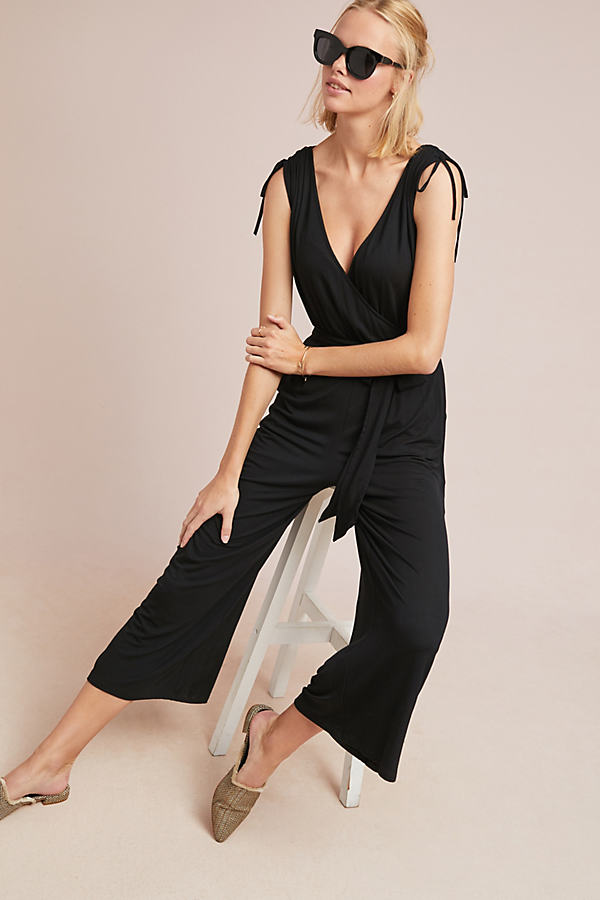 Mary Jumpsuit - Black, Size Xs