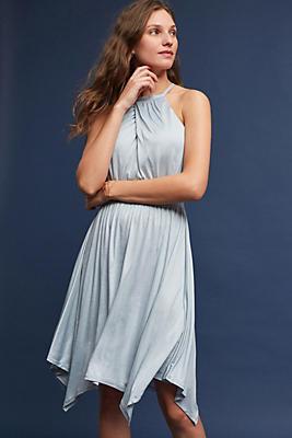 Slide View: 1: Rochelle Halter Mini Dress