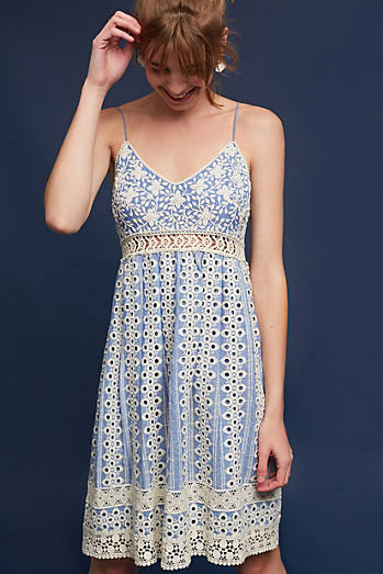 Emilia Embroidered Dress