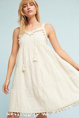 Slide View: 1: Azelie Tassel Dress