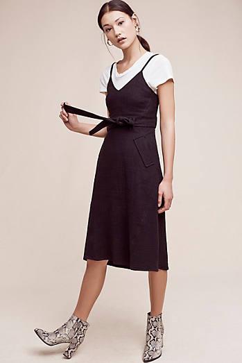 York Midi Slip Dress