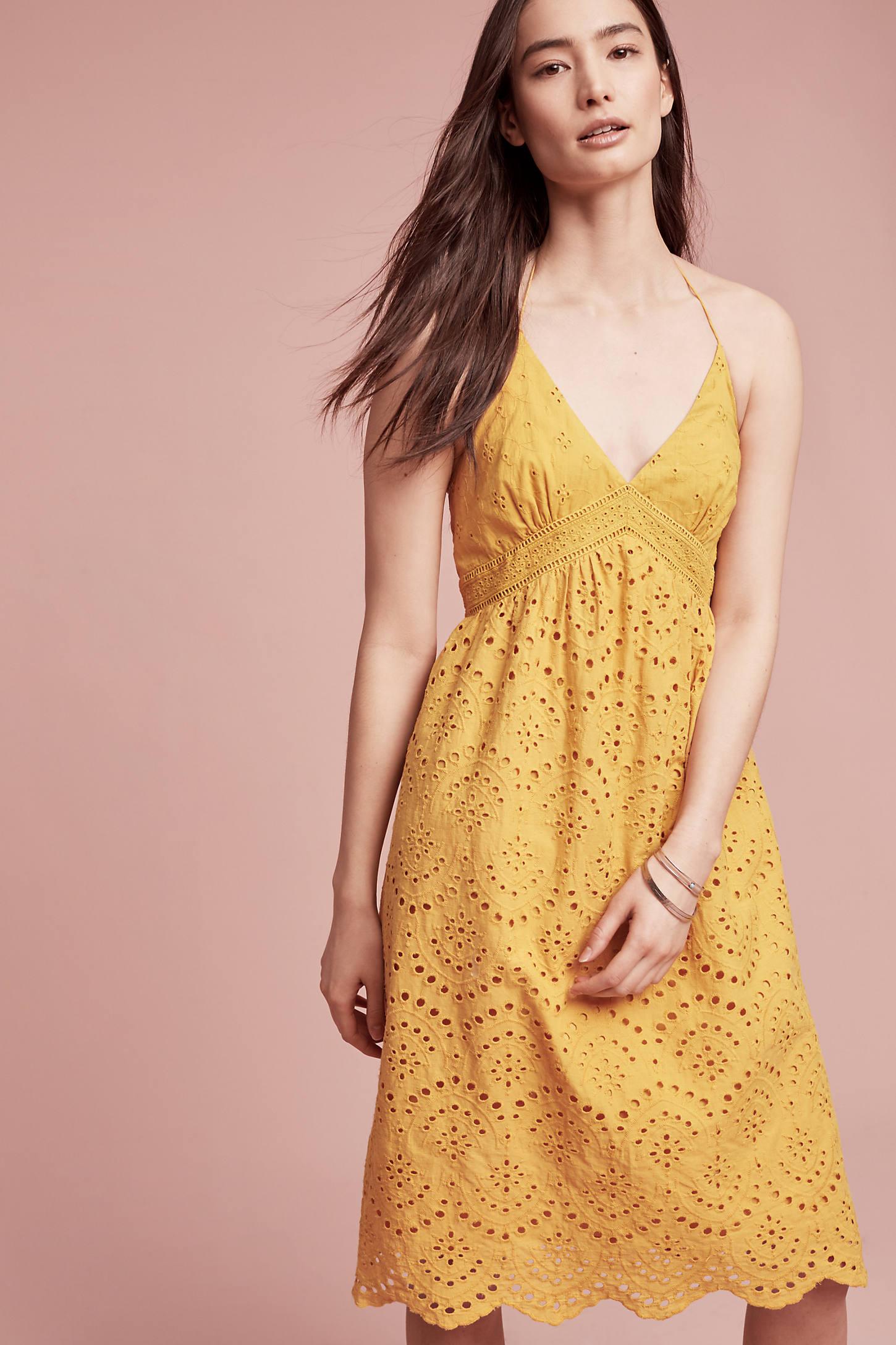 Buttercup Eyelet Dress